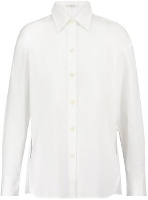 Vince Convertible cotton poplin shirt