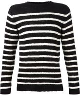 The Elder Statesman cashmere striped sweater