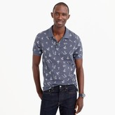 J.Crew Classic piqué polo shirt in sailboat pattern