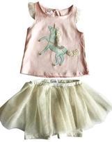 Mud Pie MUDPIE Unicorn Skirt Set