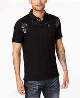 INC International Concepts Men's Animal Gel Print Polo, Created for Macy's