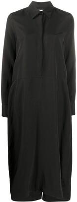 Jil Sander Dropped-Waist Shirt Dress