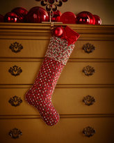 Kim Seybert Brilliant Christmas Stocking