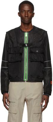 Heron Preston Black Utility Jacket