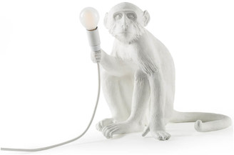 Seletti Indoor/Outdoor Sitting Monkey Lamp