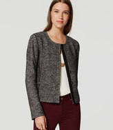 LOFT Tweed Knit Jacket