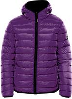BearPaw Purple Fargo Hood Puffer Coat - Women