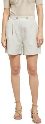Oxford Sasha Linen Shorts Lt