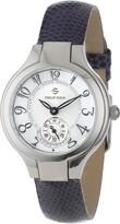 Philip Stein Teslar Women's 44-FMOP-ZLPR Stainless Steel Watch with Purple Leather Band