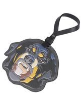 Givenchy Multicolor Rottweiler Embossed Keyring