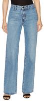 Helmut Lang Cotton Back Patch Straight Jeans