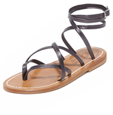 K. Jacques Gladiator Wrap Sandals