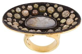 Loree Rodkin Diamond Disc Ring