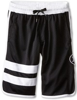 Hurley Block Party Mesh Shorts (Big Kids)