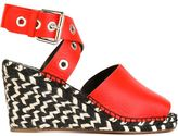Proenza Schouler wedge espadrilles - women - Leather - 35