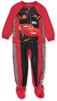 Disney Pixar Cars Lightning McQueen Footie Toddler Pajama for boys