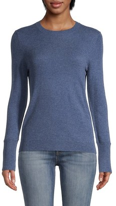 Saks Fifth Avenue Roundneck Split-Cuff Sweater