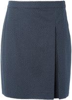 A.P.C. polka dot print skirt - women - Cotton/Lyocell - 36