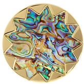 House Of Harlow Starburst Abalone Cocktail Ring - Size 5