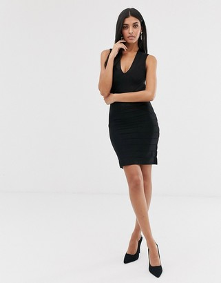French Connection bandage bodycon dress