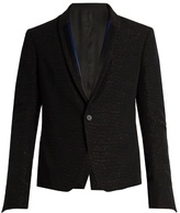 Haider Ackermann Curare Single-breasted Wool Dinner Jacket