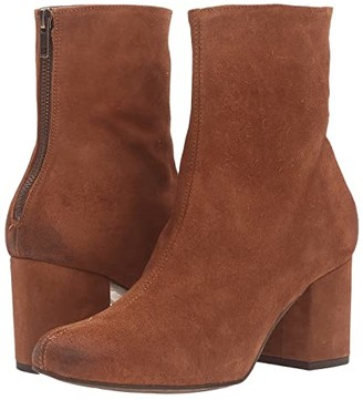 Free People Cecile Ankle Boot (Brown) Women's Pull-on Boots