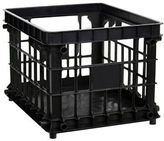 Essential Needs Black File Storage Crate