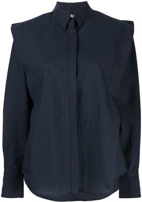 Isabel Marant Talki pleat-detail shirt