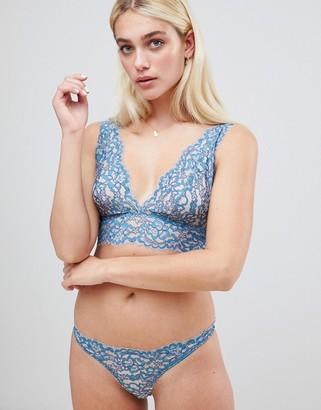 Cosabella Preta Lace Thong