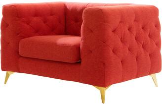 Chic Home Soho Red Club Chair