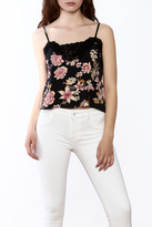 Billabong Side By Side Floral Cropped Cami