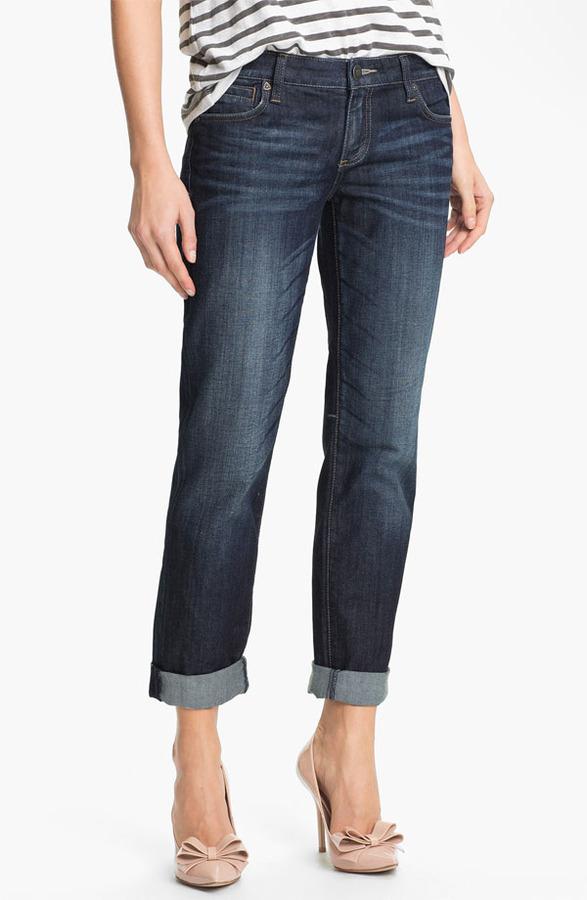 KUT from the Kloth Boyfriend Jeans Womens Wise Wash Size 16 16