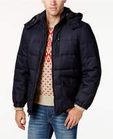 Nautica Men's Big and Tall Hooded Puffer Coat