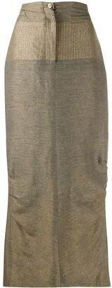 Gianfranco Ferré Pre-Owned 1990s Maxi Skirt