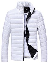 Huafeiwude Mens Winter Coat Cotton Outwear Jacket M Tag L