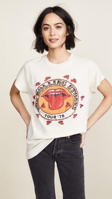 MadeWorn Rolling Stones 1978 Rock Printed Tee
