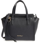 Salvatore Ferragamo 'Mini Amy' Tote - Black