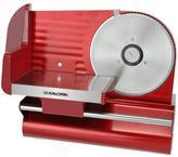 Kalorik 7-1/2 in. Meat Slicer in Red Metallic
