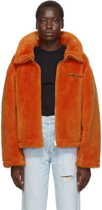 Ambush Orange Wool Fleece Jacket