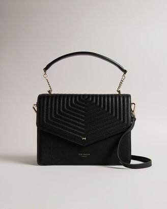 Ted Baker Leather Quilted Envelope Bag