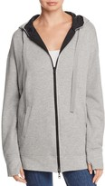 Kenneth Cole Reversible Zip-Front Hoodie