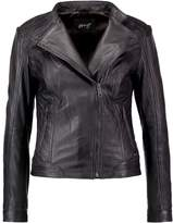 Maze SALLY Leather jacket grey