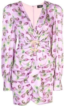 PatBO belted mini dress