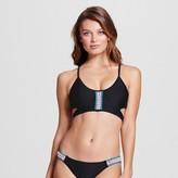 Xhilaration Women's Macrame Cutout Midkini Bikini Top