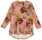 Melissa McCarthy Plus Floral Peplum Waist Top