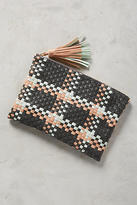 Anthropologie Woven Paloma Clutch