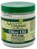 Africa's Best Ultimate Organic Extra-virgin Olive Oil Body Whip Cream, 15 Ounce
