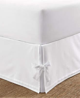 Laura Ashley Tailored Queen Bedskirt with Corner Ties Bedding