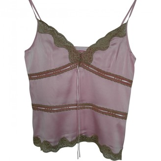 Schumacher Pink Silk Top for Women