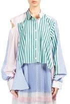 Sacai Striped Convertible Shirt